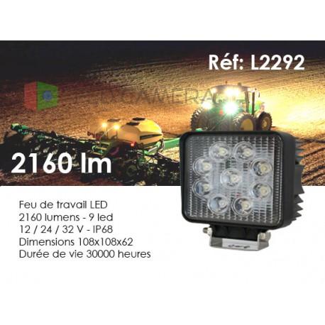 Feux de travail LED agricole