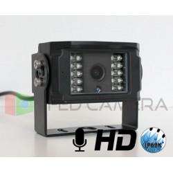 Caméra haute définition avec microphone
