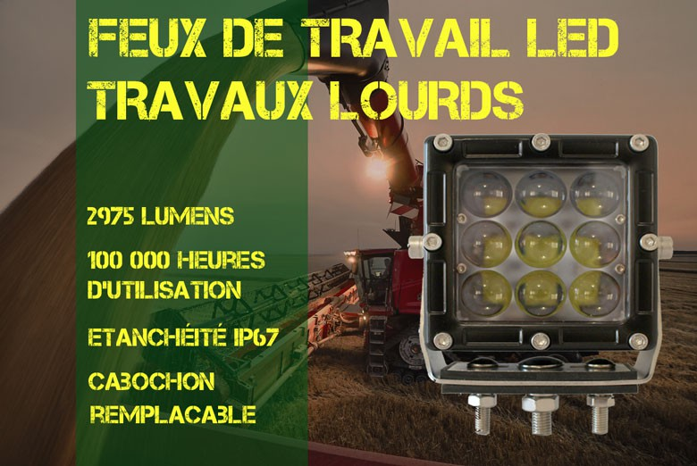 Phare de travail LED